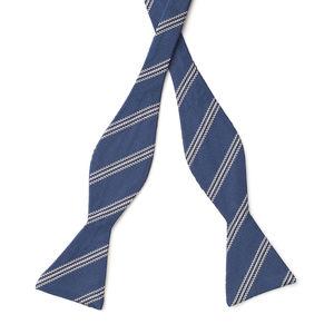 Pajarita Regimental Azul