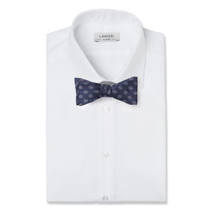 Bowtie Rétro Design Blue