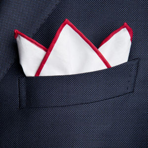 Pochette Bianco Rosso