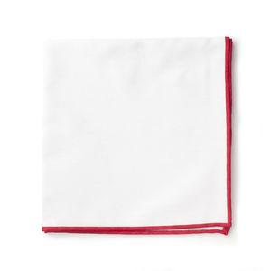 Pochette Blanc Rouge
