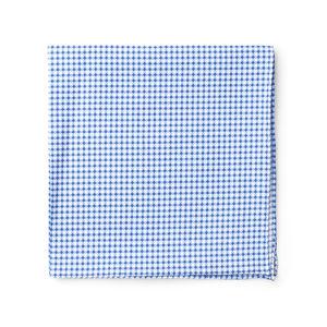 Pocket square Dots Design Light Blue
