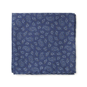 Pocket square Cashmere Blue