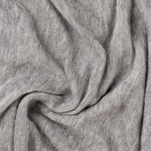 Mélange Grey Scarf Fabric produced by  Botto Giuseppe & Figli