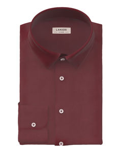 Shirt Marsala Cotton