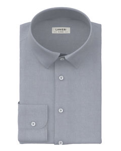 Shirt Grey Micro Dots
