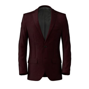 Jacket Burgundy Wool