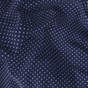 Shirt Blue Microdesign Flannel
