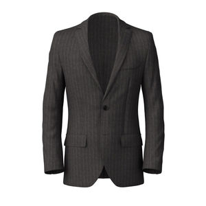Blazer London Grey Pinstripe