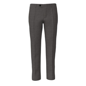 Pants London Grey Pinstripe