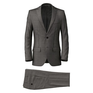 Suit Grey Houndstooth