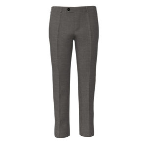 Trousers Grey Houndstooth