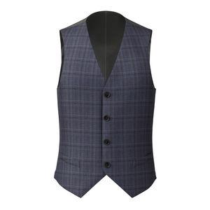 Vest Blue Steel Check