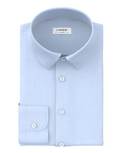 Shirt Light Blue Fil a Fil