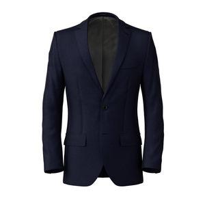 Veste Bleu Marine Oxford