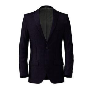 Jacket Blue Micro Stripe