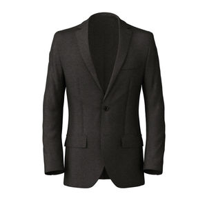 Blazer Charcoal Grey Sharkskin
