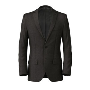 Jacket Charcoal Grey Sharkskin