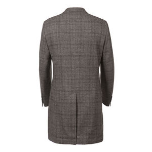 Coat Grey Prince of Wales Wool
