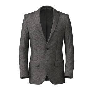 Jacket Grey Flannel