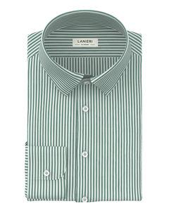 Camisa Verde Rayado