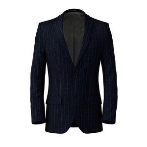 Jacket Dublin Blue Pinstripe