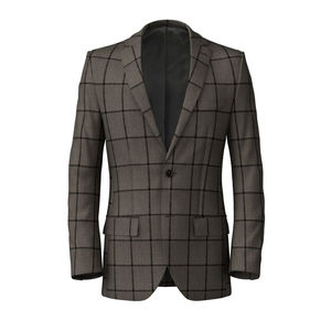 Jacket Cashmere Beige Overcheck