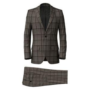 Suit Cashmere Beige Overcheck