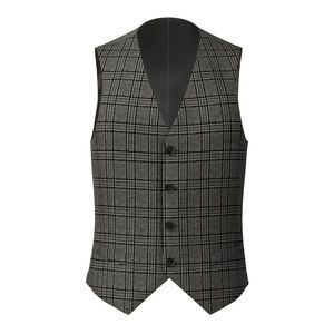 Waistcoat Cashmere Grey Prince of Wales