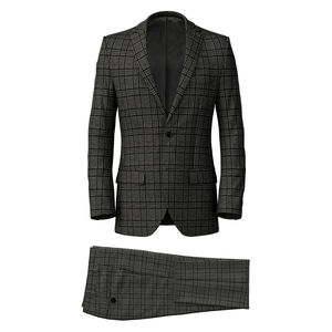 Suit Cashmere Grey Prince of Wales