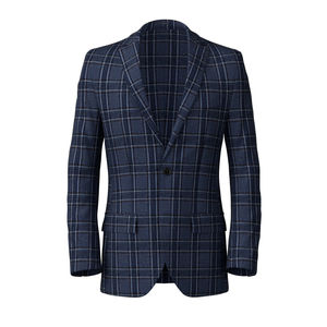 Blazer Tartan Light Blue