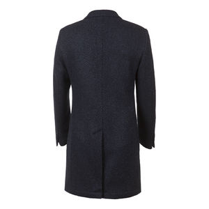 Coat Bouclè Lama Blue