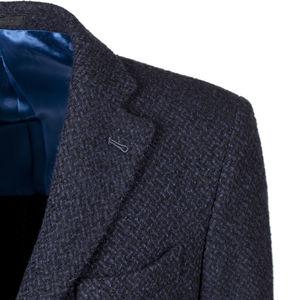 Coat Bouclè Lama Blue