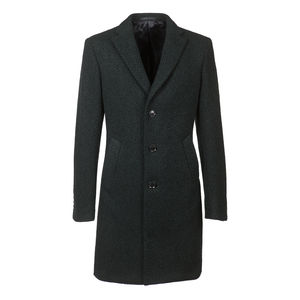 Coat Bouclè Lama Green