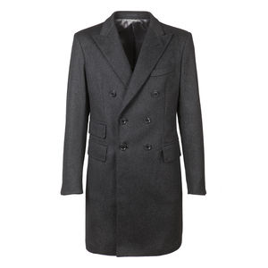 Manteau Icon Gris Laine
