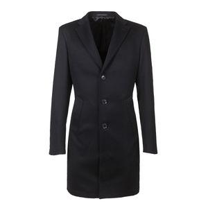 Coat Icon Blue Wool