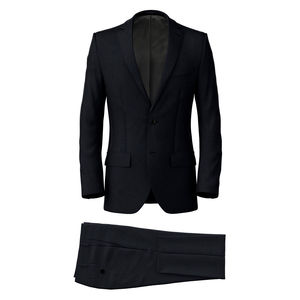 Suit Blue Birdseye