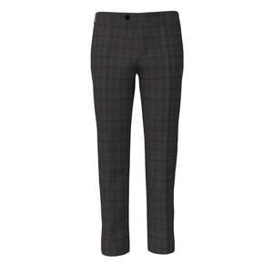 Trousers Grey Flannel Check