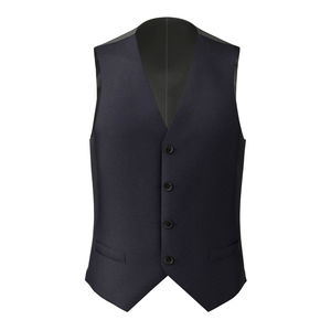 Vest Midnight Blue Micro Dots