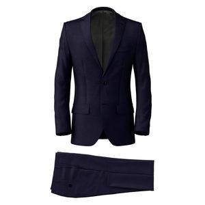 Suit Super 160's Royal Blue