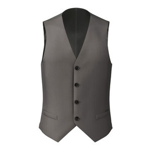 Vest Smoke Grey Pinstripe