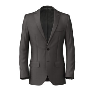 Jacket Smoke Grey Pinstripe