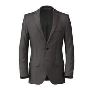 Jacket Smoke Grey Pinstripe