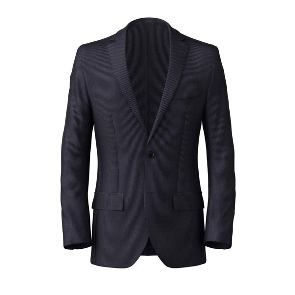 Blazer Reda Four Seasons Striped Blue