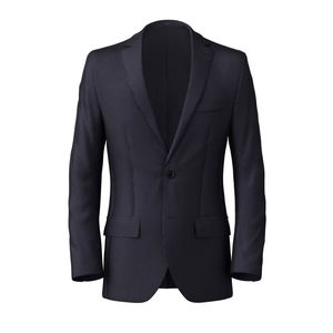 Blazer Midnight Blue Pinstripe