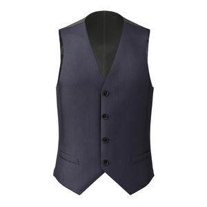 Waistcoat Midnight Blue Pinstripe