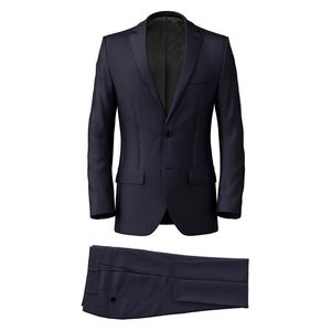 Suit Midnight Blue Pinstripe