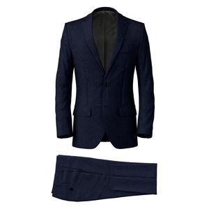 Anzug Blau Levante