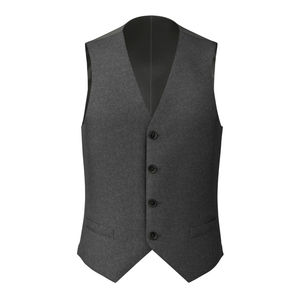 Vest Icon Grey Flannel