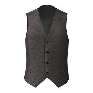 Vest Grey Birdseye