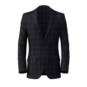 Blazer Blau Cambridge Überkaro